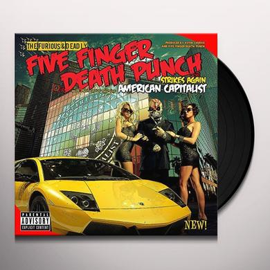 Five Finger Death Punch AMERICAN CAPITALIST (SWAMP GREEN COLOURED VINYL) Vinyl Record