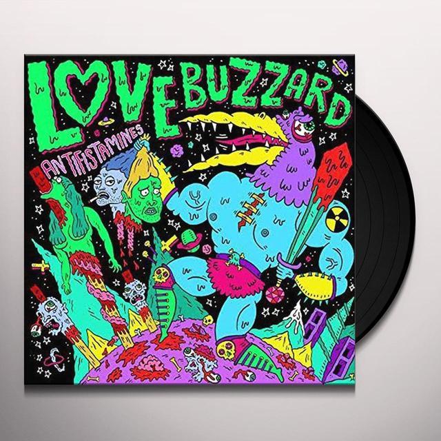 LOVE BUZZARD ANTIFISTAMINES Vinyl Record - UK Import