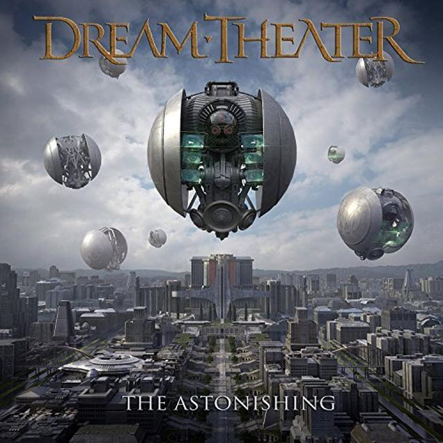 Dream Theater ASTONISHING Vinyl Record - UK Import