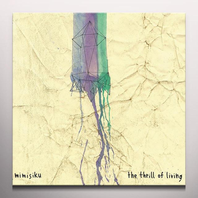 MIMISIKU THRILL OF LIVING Vinyl Record - Colored Vinyl, Digital Download Included