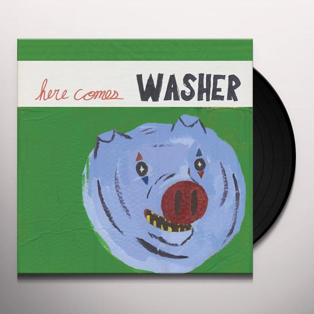 HERE COMES WASHER Vinyl Record - Digital Download Included