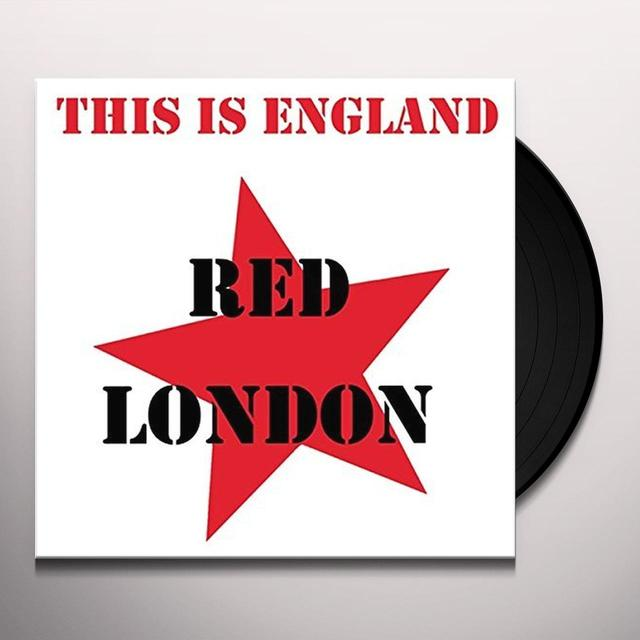 Red London THIS IS ENGLAND Vinyl Record