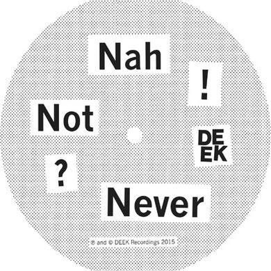 (DON'T ASK) NAH NOT NEVER Vinyl Record