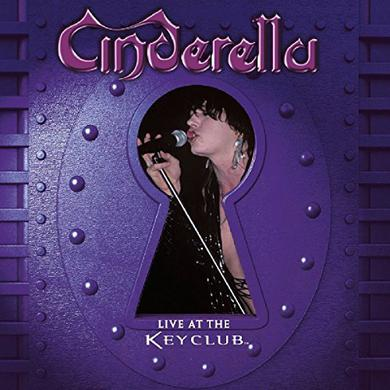 Cinderella LIVE AT THE KEY CLUB Vinyl Record