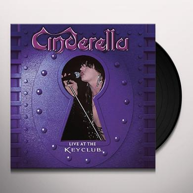 Cinderella LIVE AT THE KEY CLUB Vinyl Record