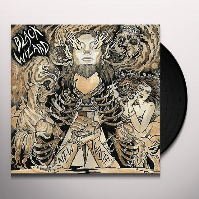 Black Wizard NEW WASTE Vinyl Record