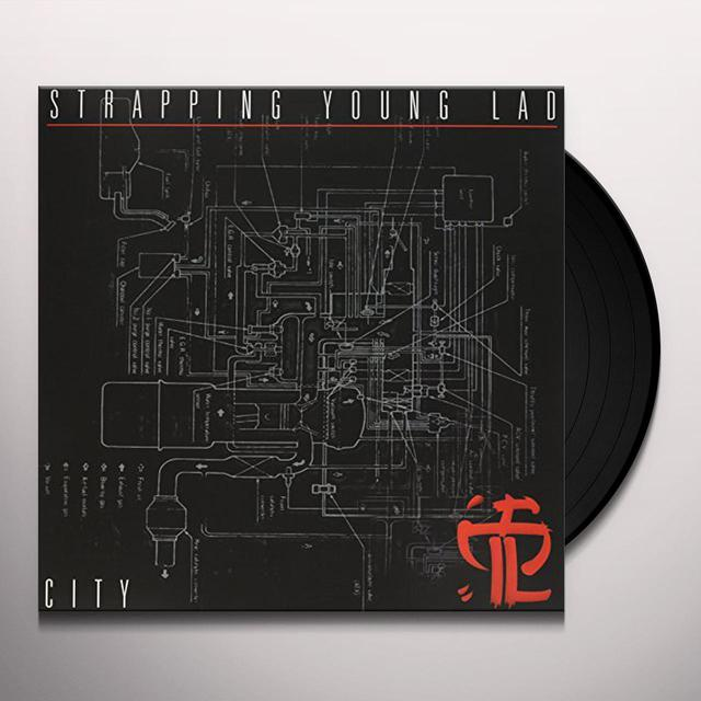 Strapping Young Lad CITY Vinyl Record