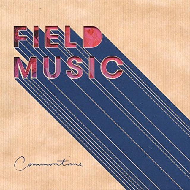 Field Music COMMONTIME Vinyl Record