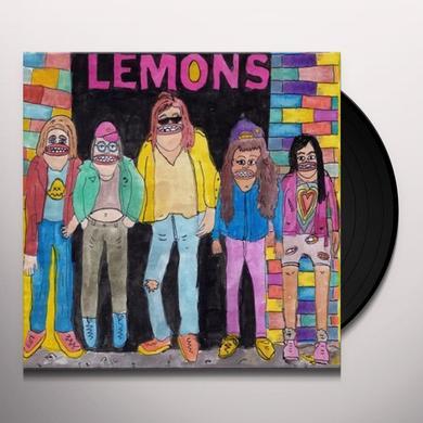 HELLO WE'RE THE LEMONS Vinyl Record