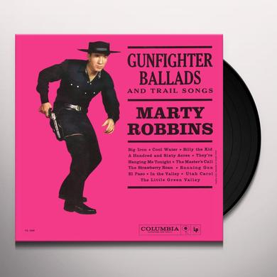 Marty Robbins GUNFIGHTER BALLADS & TRAIL SONGS Vinyl Record - 180 Gram Pressing