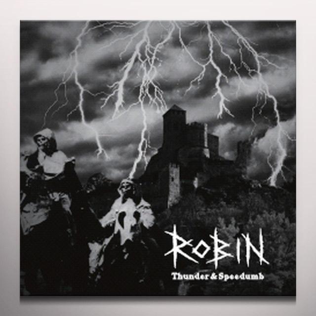Robin THUNDER & SPEEDUMB Vinyl Record - Colored Vinyl, Purple Vinyl