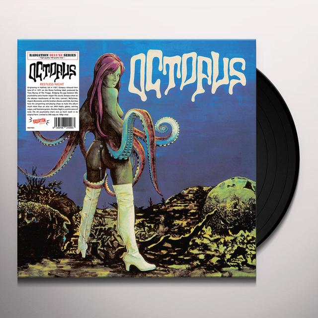 Octopus RESTLESS NIGHT Vinyl Record - Limited Edition, 180 Gram Pressing