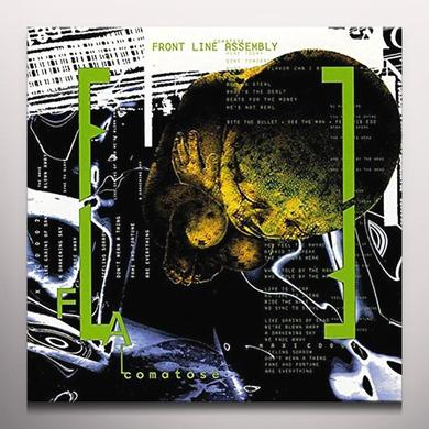 COMATOSE FRONT LINE ASSEMBLY Vinyl Record - Colored Vinyl