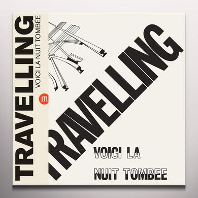 TRAVELLING VOICI LA NUIT TOMBEE Vinyl Record - Colored Vinyl, Limited Edition, Yellow Vinyl