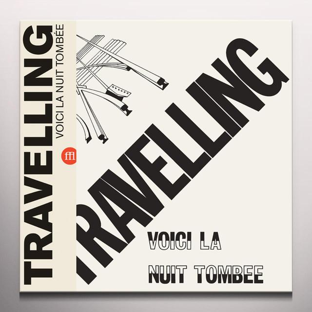 TRAVELLING VOICI LA NUIT TOMBEE Vinyl Record - Colored Vinyl, Limited Edition, Yellow Vinyl