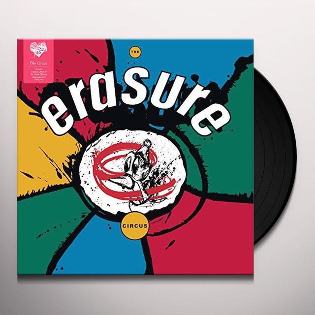 Erasure CIRCUS Vinyl Record - UK Import