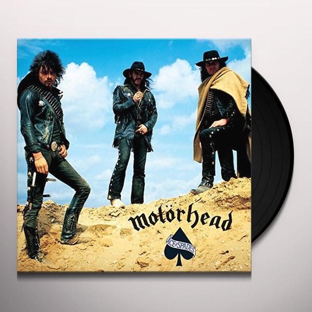 Motorhead ACE OF SPADES Vinyl Record - 180 Gram Pressing