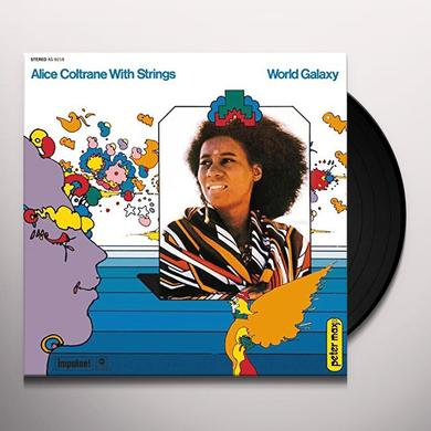 Alice Coltrane WORLD GALAXY Vinyl Record