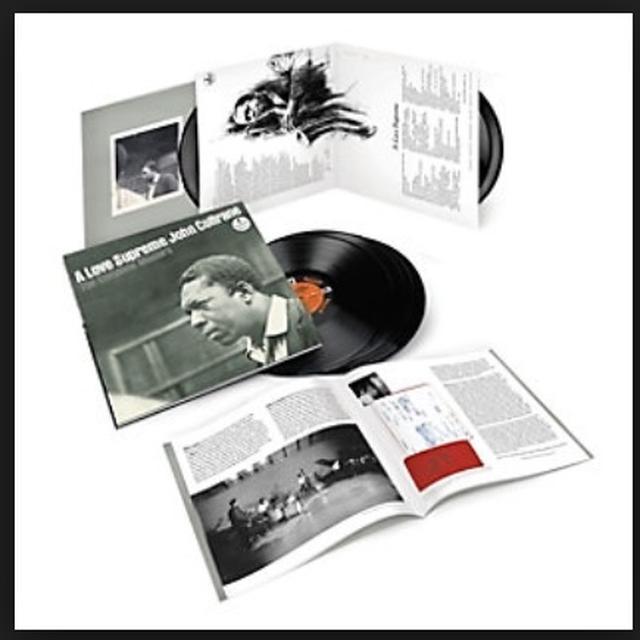 John Coltrane LOVE SUPREME: THE COMPLETE MASTERS Vinyl Record