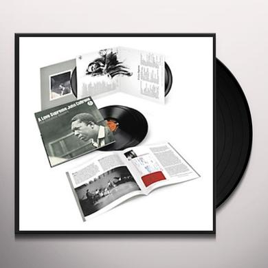 John Coltrane LOVE SUPREME: THE COMPLETE MASTERS Vinyl Record