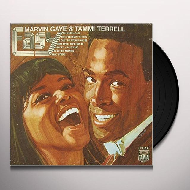 Marvin Gaye EASY (WITH TAMMI TERRELL) Vinyl Record