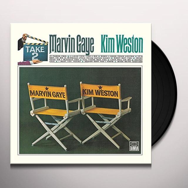 Marvin Gaye TAKE 2 (WITH KIM WESTON) Vinyl Record