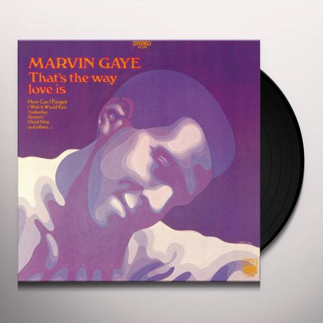 Marvin Gaye THAT'S THE WAY LOVE IS Vinyl Record