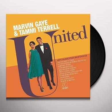Marvin Gaye UNITED (WITH TAMMI TERRELL) Vinyl Record