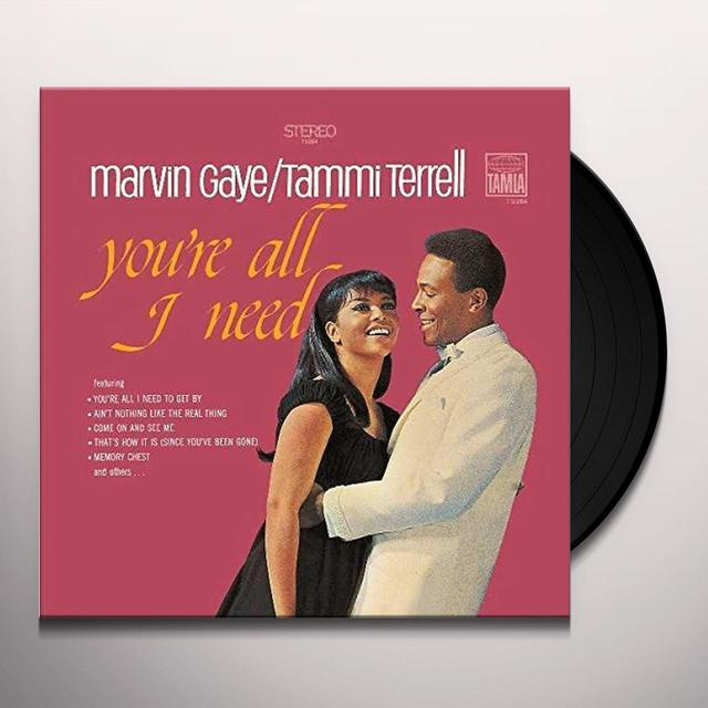 Marvin Gaye YOU'RE ALL I NEED (WITH TAMMI TERRELL) Vinyl Record