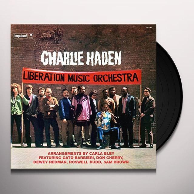 Charlie Haden LIBERATION MUSIC ORCHESTRA Vinyl Record