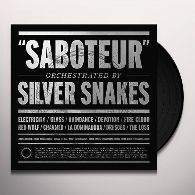 Silver Snakes SABOTEUR Vinyl Record