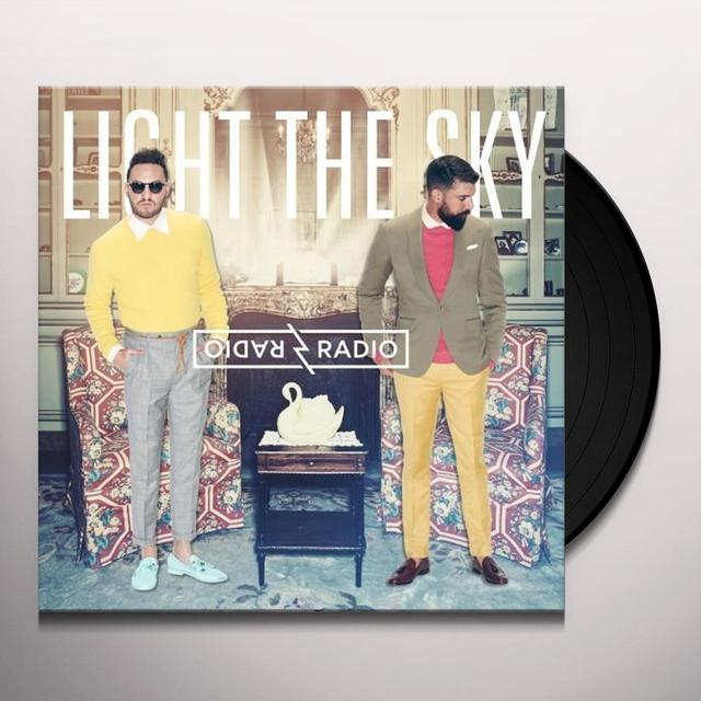 Radio Radio LIGHT THE SKY Vinyl Record - Canada Import