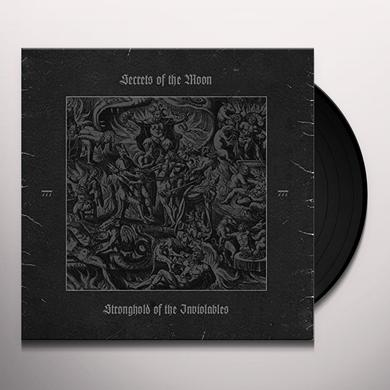 Secrets Of The Moon STRONGHOLD OF THE INVIOLABLES Vinyl Record - Canada Release