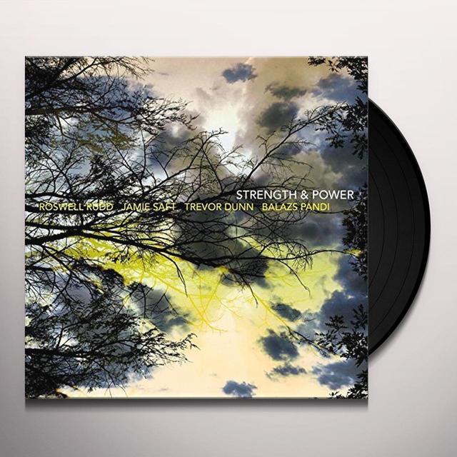 Roswell Rudd / Jamie Saft / Trevor Dunn / Pandi STRENGTH & POWER Vinyl Record - Canada Import