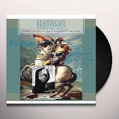 Herbert Von Karajan / Berlin Philharmonic Orch BEETHOVEN: SYMPHONY NO. 3 EROICA Vinyl Record - Holland Import