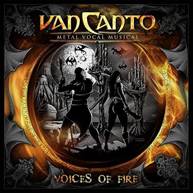 Van Canto VOICES OF FIRE Vinyl Record