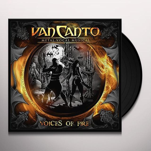 Van Canto VOICES OF FIRE Vinyl Record