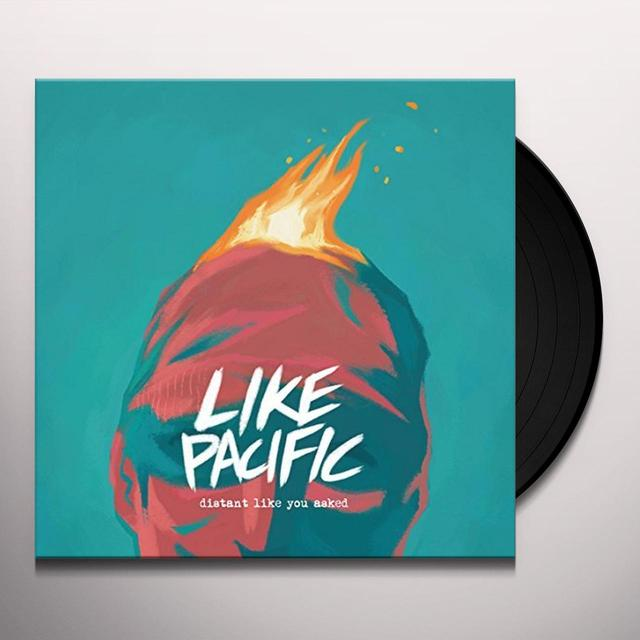 Like Pacific DISTANT LIKE YOU ASKED Vinyl Record - UK Release