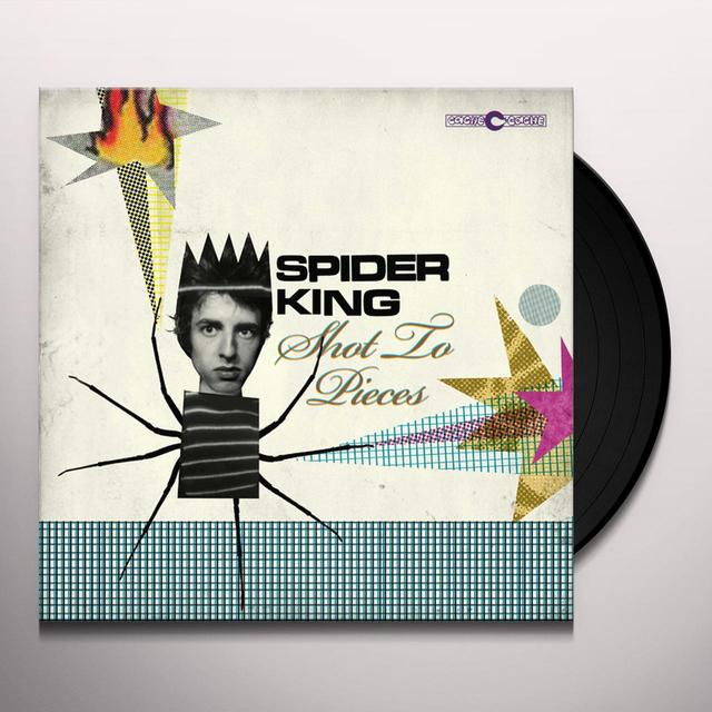 SPIDER KING SHOT TO PIECES Vinyl Record - UK Release