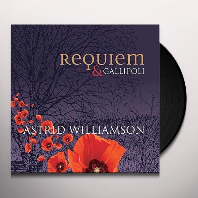 Astrid Williamson REQUIEM & GALLIPOLI Vinyl Record - UK Import