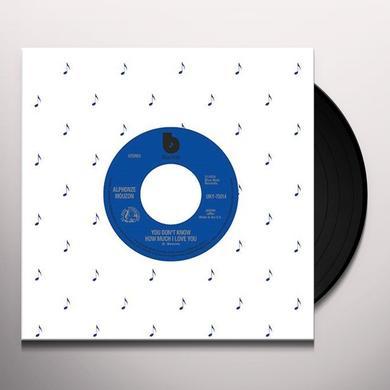 Alphonze Mouzon & Bobbi Humphrey UM X CAPTAIN VINYL: YOU DON'T KNOW HOW MUCH I LOVE Vinyl Record