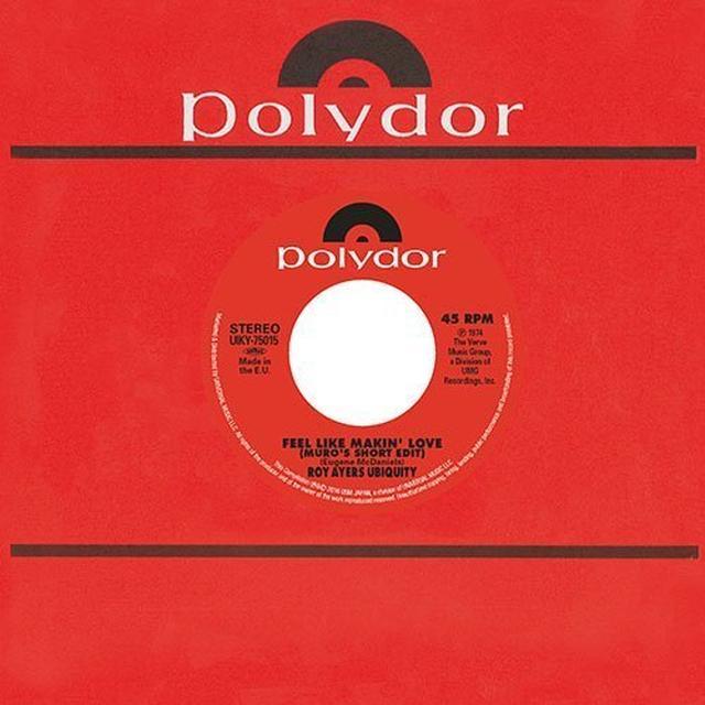 Roy Ayers & Monk Higgins UM X CAPTAIN VINYL: FEEL LIKE MAKING LOVE/LITTLE Vinyl Record