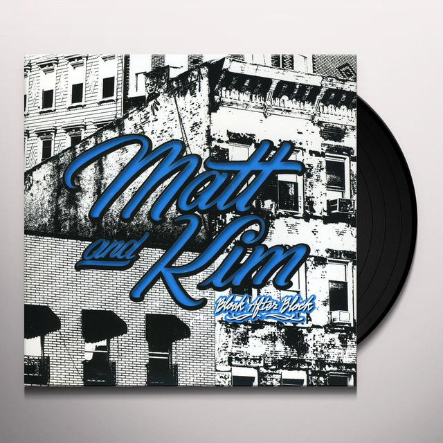 Matt & Kim BLOCK AFTER BLOCK Vinyl Record