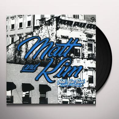 Matt & Kim BLOCK AFTER BLOCK Vinyl Record