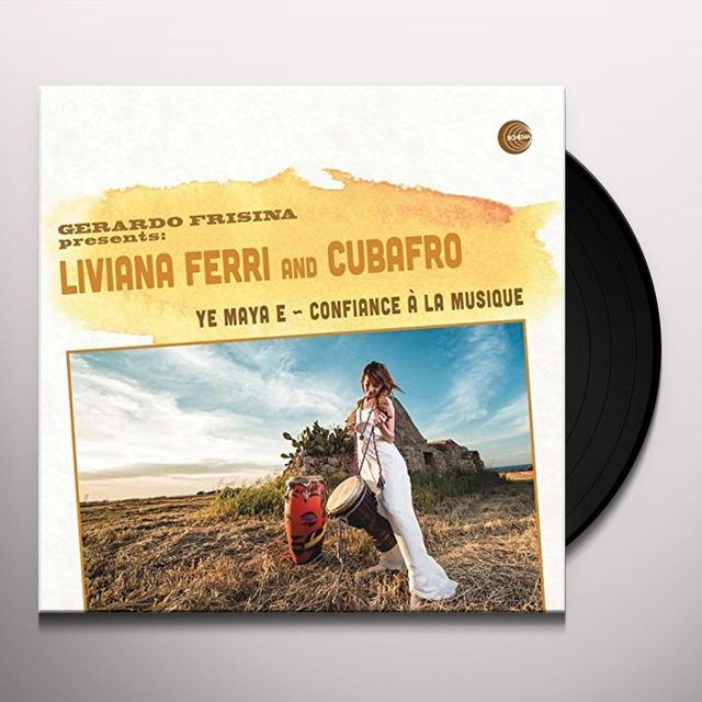 FERRI / CUBAFRO / BARBIERI YE MAYA E Vinyl Record