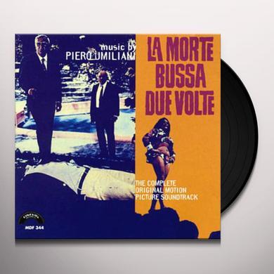 Piero Umiliani LA MORTE BUSSA DUE VOLTE / O.S.T. Vinyl Record