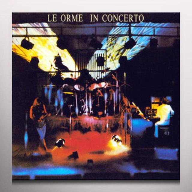 Le Orme IN CONCERTO Vinyl Record - Black Vinyl, Limited Edition, Red Vinyl