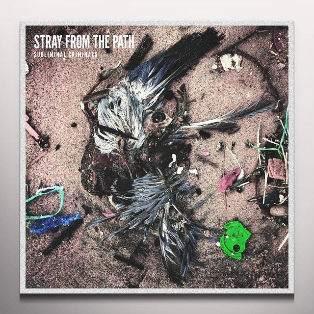 Stray From The Path SUBLIMINAL CRIMINALS (GREEN/YELLOW SPLIT) Vinyl Record - Colored Vinyl