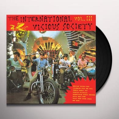INTERNATIONAL VICIOUS SOCIETY VOL. III / VARIOUS Vinyl Record