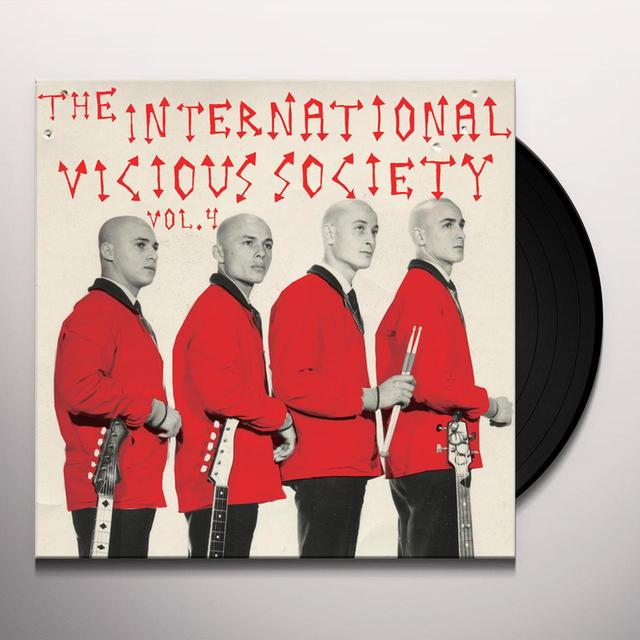 INTERNATIONAL VICIOUS SOCIETY VOL. 4 / VARIOUS Vinyl Record